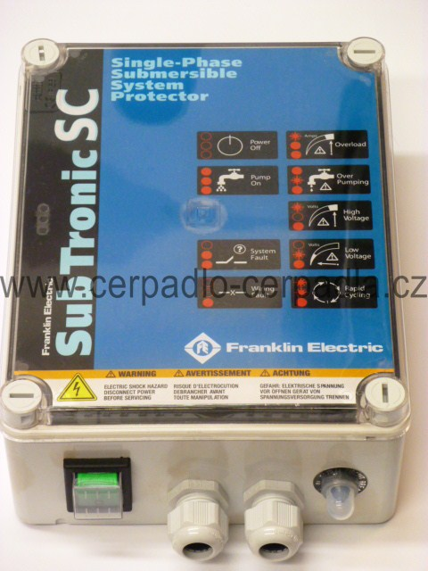 Franklin SubTronicSC 0,75kW